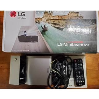 エルジーエレクトロニクス(LG Electronics)のLG PH450UG 超短焦点 LEDプロジェクター(プロジェクター)