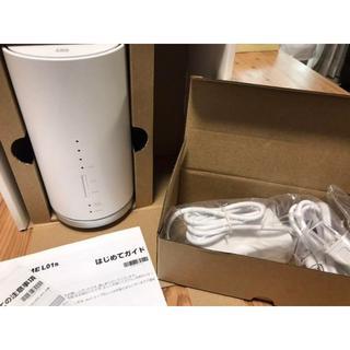 週末値引き★UQ WiMAX Speed Wi-Fi HOME L01s(PC周辺機器)
