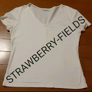 STRAWBERRY-FIELDS - STRAWBERRY-FIELDS 白カットソー