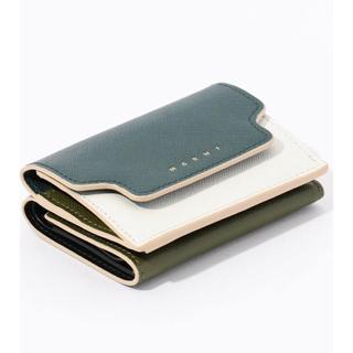 マルニ(Marni)の新品 MARNI マルニ ミニ財布 グリーン(財布)