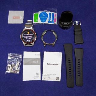 サムスン(SAMSUNG)のGalaxy Watch 46mm シルバー SM-R800NZSAXJP (腕時計(デジタル))