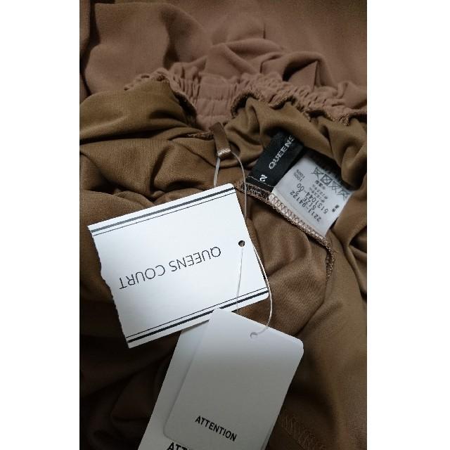 QUEENS COURT(クイーンズコート)のクイーンズコート ロングスカート シフォン プリーツ M 2 38 レディースのスカート(ロングスカート)の商品写真