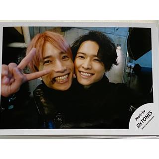 Johnny's - SixTONES セルフィー 田中樹 松村北斗 ほくじゅり 公式写真
