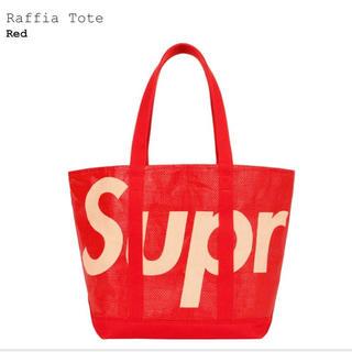 Supreme - 【新品】Supreme Raffia Tote Red