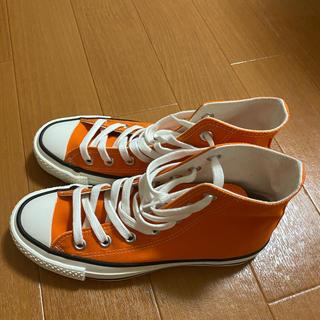 CONVERSE - converseスニーカー オレンジ