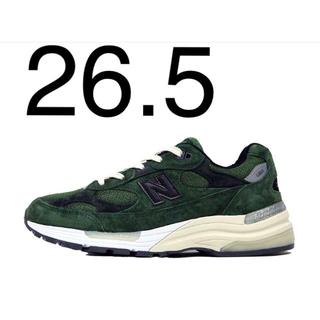 New Balance - 26.5cm jjjjound new balance m992 グリーン