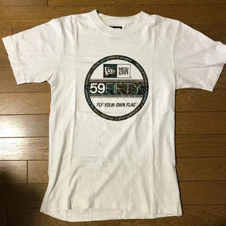 ニューエラー(NEW ERA)のNEWERA 59FIFTY Tee White(Tシャツ/カットソー(半袖/袖なし))