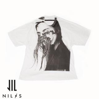 ユリウス(JULIUS)のNILoS×Jesse Draxler プリント Tシャツ 1 2020 ニルズ(Tシャツ/カットソー(半袖/袖なし))