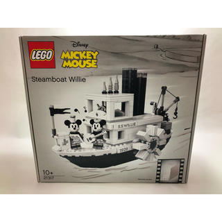 Lego - 【新品未使用】レゴ LEGO アイデア 蒸気船ウィリー ミッキー ミニー