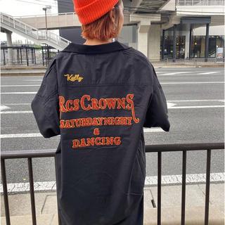 ロデオクラウンズワイドボウル(RODEO CROWNS WIDE BOWL)のRODEOCROWNS/ボーリングシャツ/RCWB(シャツ/ブラウス(半袖/袖なし))