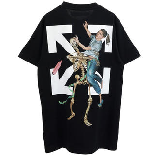 OFF-WHITE - OFF-WHITE PASCAL SKELETON S/S SLIM TEE