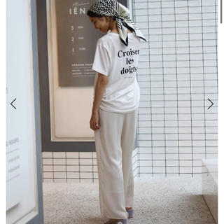 IENA SLOBE - SLOBE IENA ロゴ Tシャツ