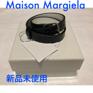 Maison Martin Margiela - 新品 Maison Margiela メゾンマルジェラ 2連 レザーバングル