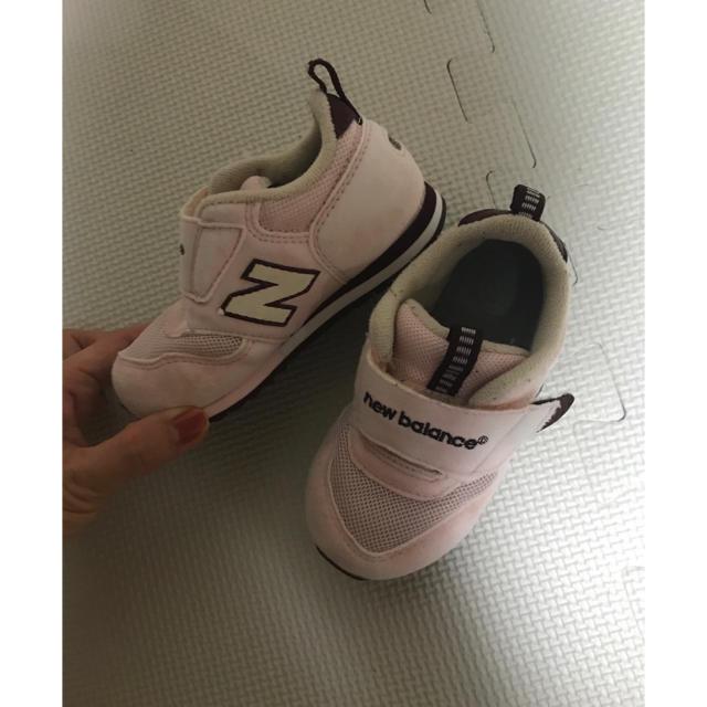 New Balance(ニューバランス)の【美品】ニューバランス309 サイズ14cm ピンク キッズ/ベビー/マタニティのベビー靴/シューズ(~14cm)(スニーカー)の商品写真