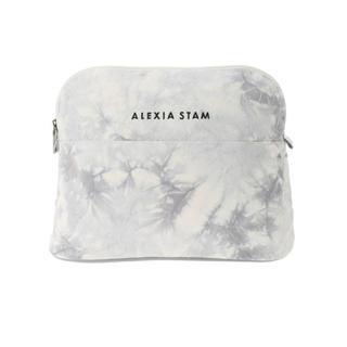 アリシアスタン(ALEXIA STAM)の新品 ALEXIA STAM♡アリシアスタン タイダイラージポーチ 16日削除(ポーチ)