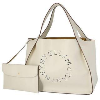 Stella McCartney - ステラマッカートニー ロゴ トートバッグ ホワイト