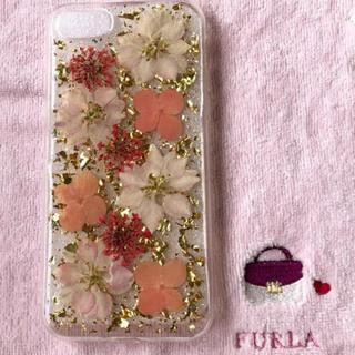 iPhone7/8case♡押し花
