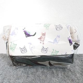 スカラー(ScoLar)のスカラー 猫柄ガマ口ポーチ(ポーチ)