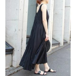 IENA - マリハ☆MARIHA☆海の月影のドレス☆ワンピース☆黒☆ブラック☆