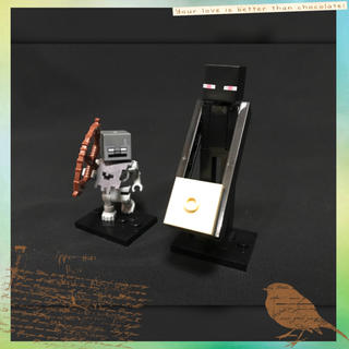 マイクラ レゴ 互換品 ストレイ エンダーマン【組み立て品】