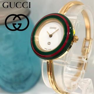 Gucci - グッチチェンジベゼル時計 シェリーライン 新品電池 レディース腕時計 8