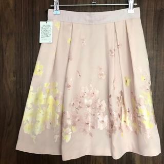 LAISSE PASSE - 新品 レッセパッセ 花柄フレアスカート