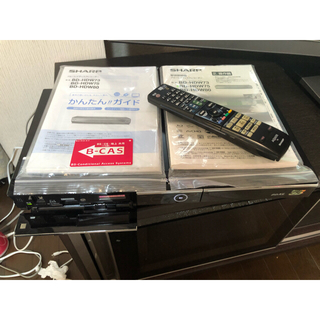 SHARP - シャープ  ダブル録画 ブルーレイレコーダー AQUOS BD-HDW75