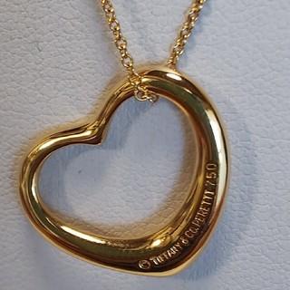 ティファニー(Tiffany & Co.)のティファニー750オープンハートネックレス(ネックレス)