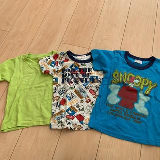 PEANUTS - 3セットまとめ売り! サイズ100 Tシャツ