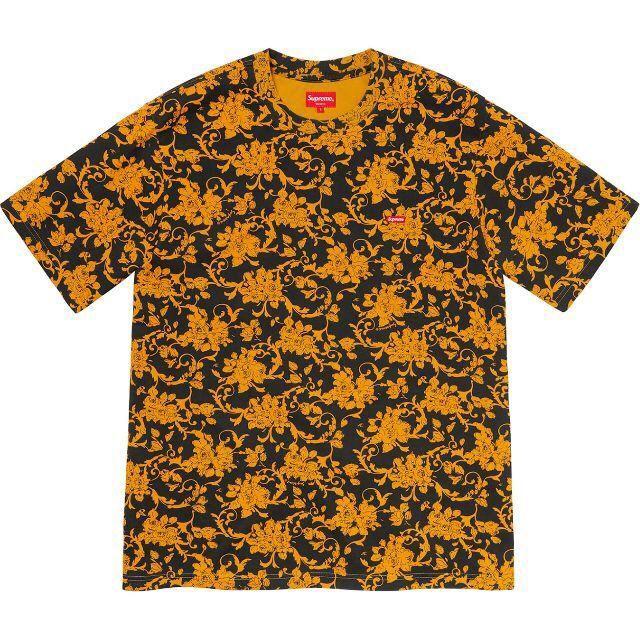 Supreme(シュプリーム)のSmall Box Tee Black Floral M フローラル Tシャツ メンズのトップス(Tシャツ/カットソー(半袖/袖なし))の商品写真