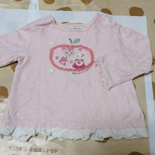 coeur a coeur - 新品 クーラクール りんごアップリケ 長袖Tシャツ 95