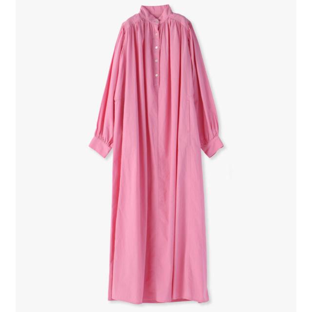 Ron Herman(ロンハーマン)の【Ten×Ron Herman 】新色*pink ロンハーマン  カフタンドレス レディースのワンピース(ロングワンピース/マキシワンピース)の商品写真