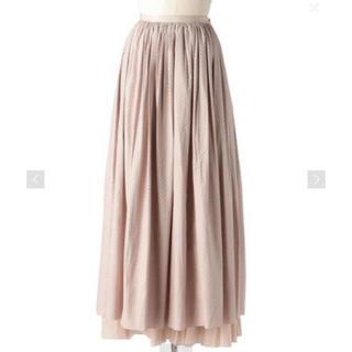 Drawer - Drawer カラミレースギャザーロングスカート
