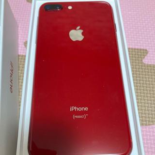 アイフォーン(iPhone)のiPhone 8 Plus RED 256GB【値下げ済】(スマートフォン本体)