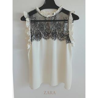 ZARA - ZARA BASIC  袖なしブラウス