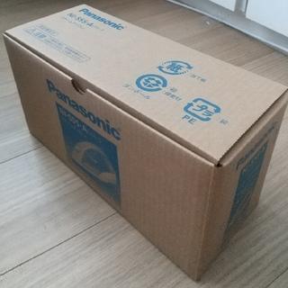 Panasonic - 7月末購入。新品 Panasonicスチームアイロン NI-S55