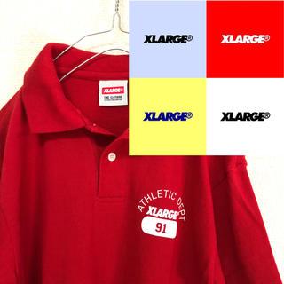エクストララージ(XLARGE)の【送料無料】X-LARGE エクストララージ ポロシャツ USA製 新品相当(ポロシャツ)