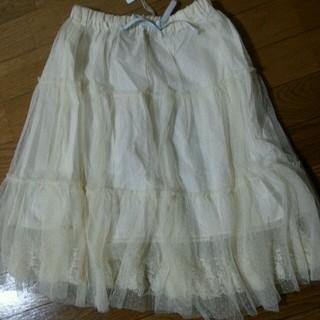 デイシー(deicy)のdeicyチュールスカート(ひざ丈スカート)