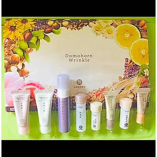 ドモホルンリンクル - ドモホルンリンクル サンプル8点セット  試供品  再春館製薬所 基礎化粧品