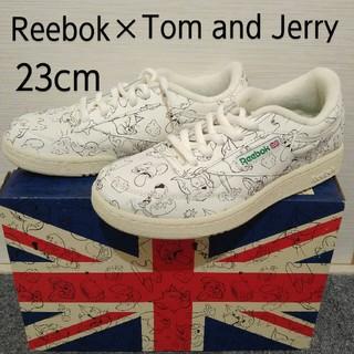 Reebok - 【新品・未使用】Reebok トムとジェリー 限定 コラボ靴 クラブC 23cm