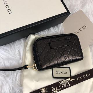 Gucci - 美品 GUCCI グッチ コインケース 小銭入れ マイクロGG