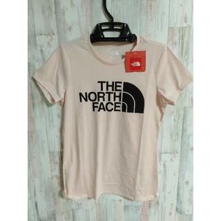 THE NORTH FACE - ノースフェイスTシャツレディース ピンク Sサイズ パステルカラー