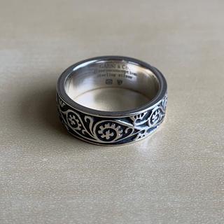ガルニ(GARNI)のGARNI Vine Pattern Ring - Light - BLACK(リング(指輪))