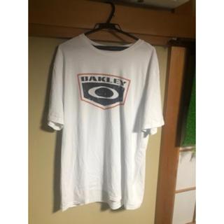 オークリー(Oakley)のOAKLEY ホワイトティシャツ(Tシャツ/カットソー(半袖/袖なし))
