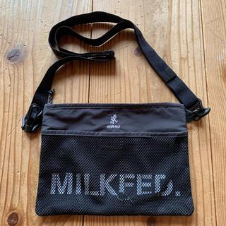 ミルクフェド(MILKFED.)のmilkfed.×gramicci コラボ サコッシュ(ショルダーバッグ)