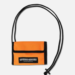 ジーユー(GU)の新品!STUDIO SEVEN GU Mini Wallet Orange(折り財布)