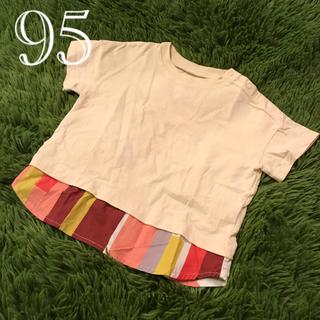 マーキーズ(MARKEY'S)の【美品】ocean&ground DOCKING T レイヤード風Tシャツ 95(Tシャツ/カットソー)