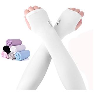 アームカバー UV手袋冷感 滑り止め UPF50+UV対策 /6色