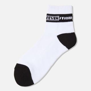 ジーユー(GU)の新品!STUDIO SEVEN GU Socks White(ソックス)