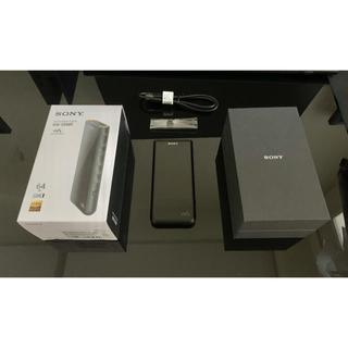 ソニー(SONY)のSONY walkman NW-ZX507 64GB 【美品】(ポータブルプレーヤー)